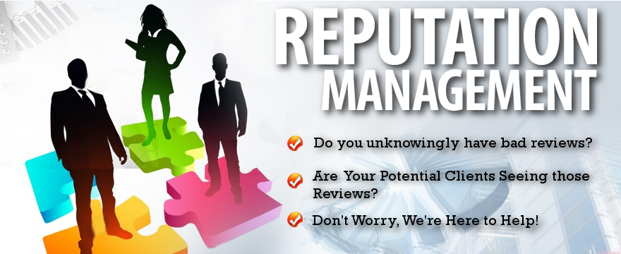 Click on this Image to see more on Reputation Management